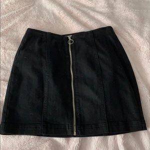 Black pacsun skirt
